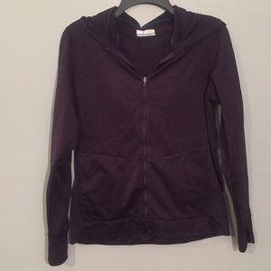 Columbia purple Omni-tech hooded zip up